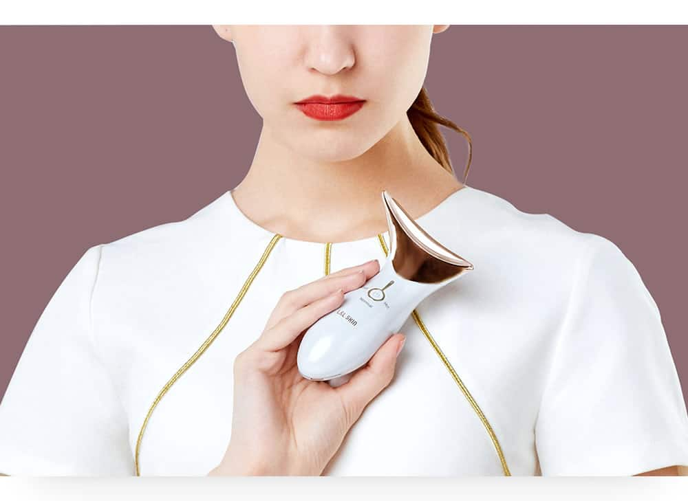 Mami Hot & Cold Beauty Device LED & Microcurrent Facial / Neck Massager