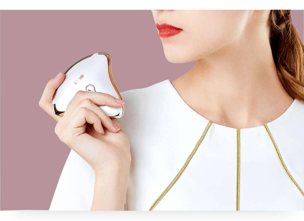 L&L Skin MIO-2 Face Lifting Tool MicroCurrent  Guasha Facial Massager